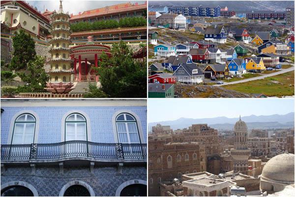Весёлые города: разноцветные столицы мира