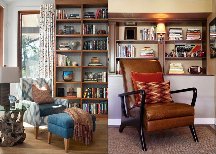 Интерьер гостиной от Interior Solutions Design Group Inc. и домашнего офиса от Joe Schmelzer, Inc. dba Treasurbite Studio, Inc.