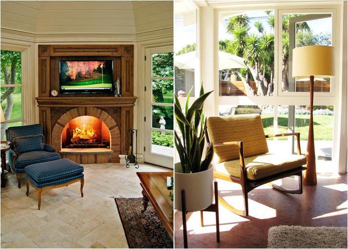 Интерьер гостиной от Dan Waibel Designer Builder и Tara Bussema - Neat Organization and Design