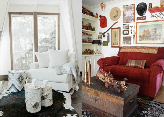 Интерьер гостиной от Aubrey Veva Design и Sarah Greenman