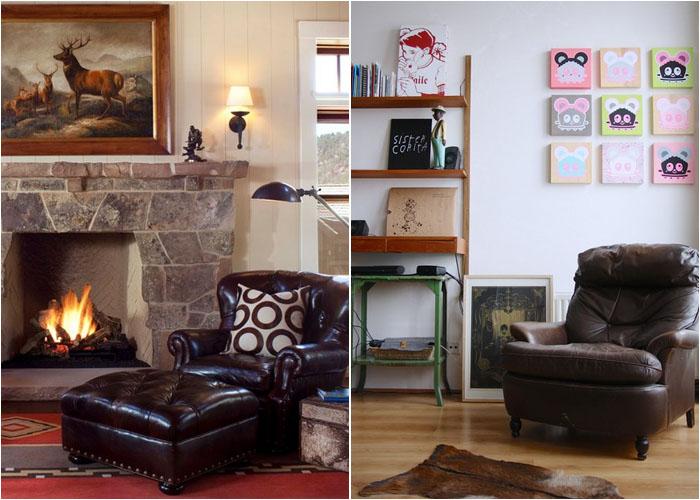 Интерьер гостиной от Ashley Campbell Interior Design и Holly Marder