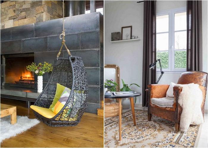Интерьер гостиной от Studio 80 Interior Design и Hege Sletsjoe Morris