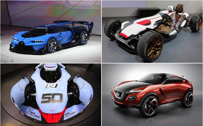 Потрясающие концепты автомобилей, представленные  на выставке Motor Show 2015 во Франкфурте