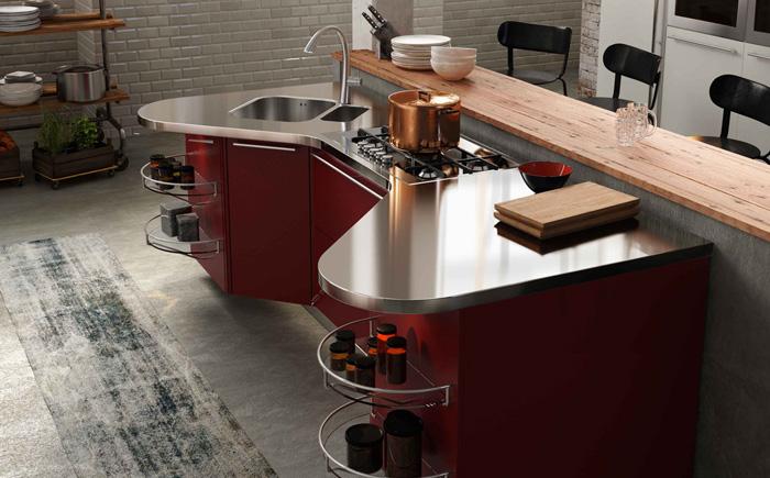 Модель кухни от компании  Snaidero