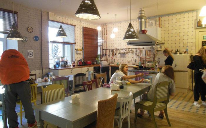 Хостел «Душевная кухня», Санкт-Петербург, Россия
