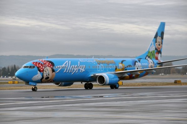 "Alaska Airlines ‒ ""Spirit of Disneyland II"""