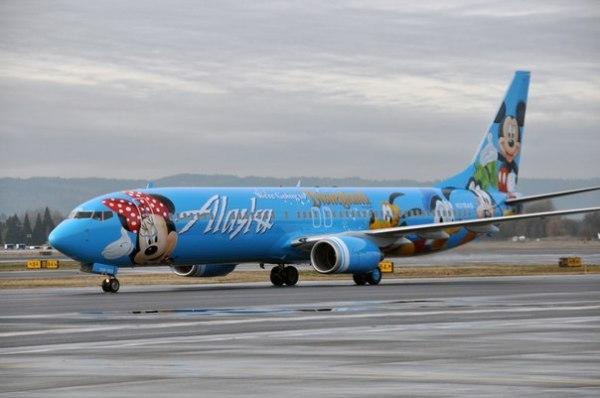 "Alaska Airlines ‒ ""Spirit of Disneyland II"""