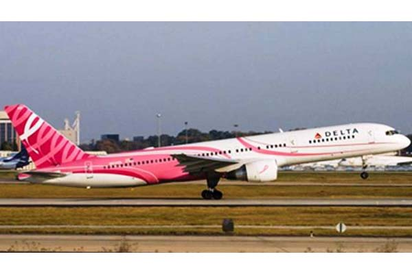 Delta Airlines – Pink Plane