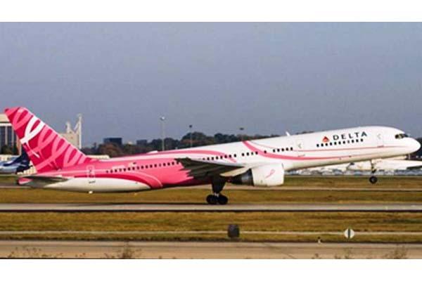 Delta Airlines – Pink Plane
