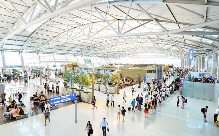Аэропорт Инчхон в Сеуле