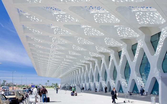 Аэропорт Менара в Марракеш