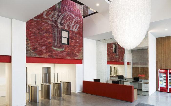 Офис Coca Cola, Великобритания
