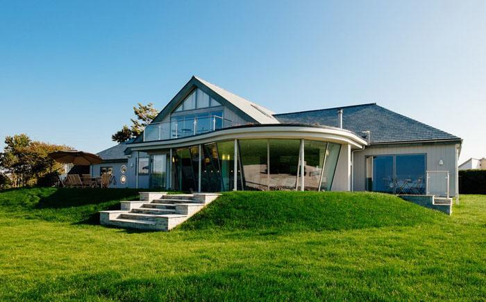 Отдыхаем с комфортом: дачный домик с открытой планировкой в Корнуолле