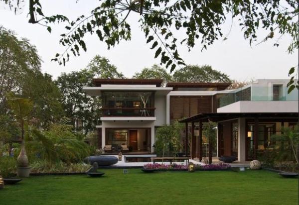- Maison courtyard hiren patel architects ...