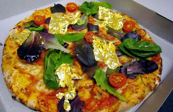 Золотая пицца