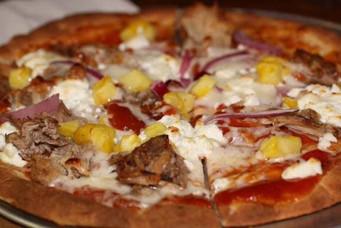 Пицца с морской свинкой