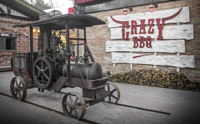 Комплекс Crazy BBQ для настоящих байкеров