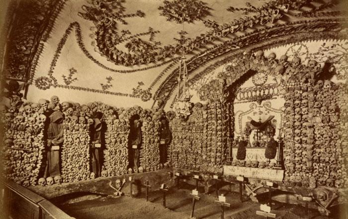 Катакомбы Рима, Италия. Фото начало ХХ века
