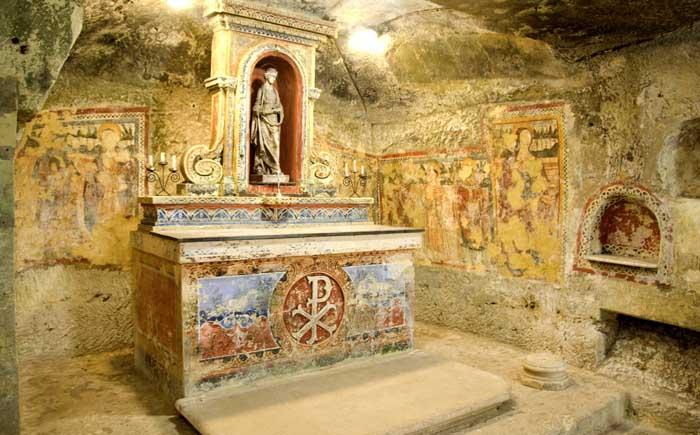 Катакомбы св. Агаты, город Рабат, Мальта