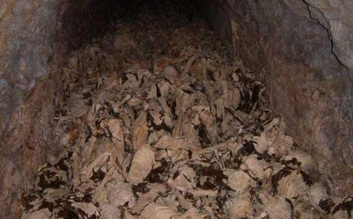 Катакомбы в городке Худа Яма (Huda Jama), Словения