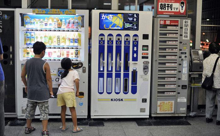 В автоматах теперь можно купить буквально всё