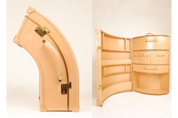 Уникальные чемоданы ручной работы от Сары Вильямс