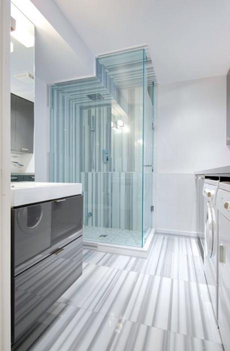 Уникальный дизайн ванной в Торонто