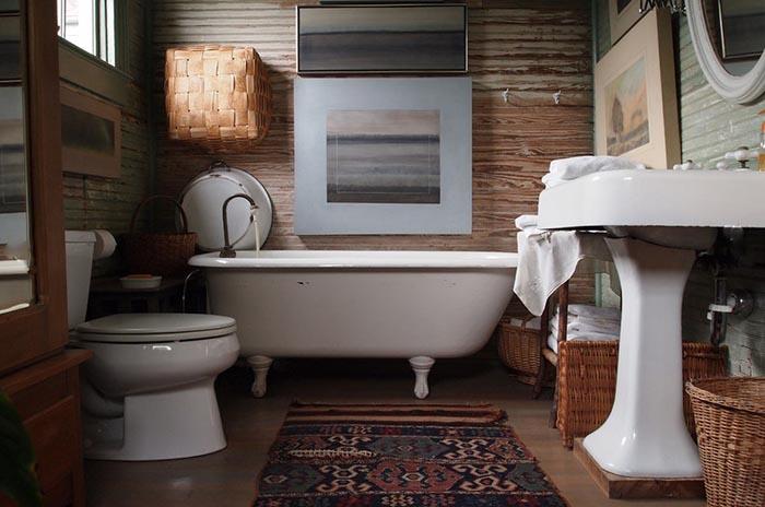 Сам себе дизайнер: 25 оригинальных ванных комнат от креативных домовладельцев
