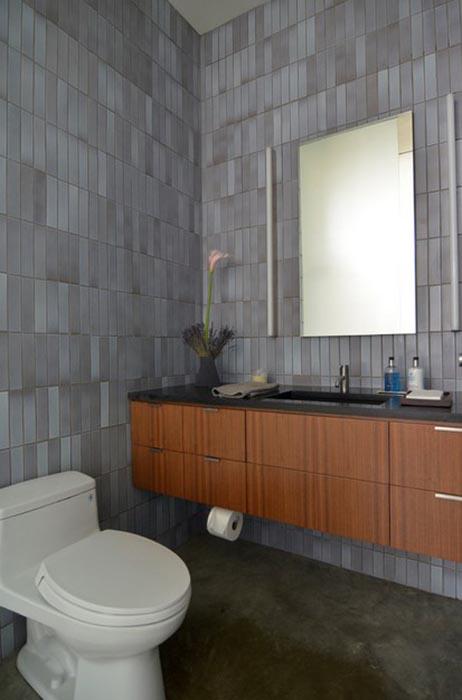 Элегантная ванная комната в нейтральных тонах