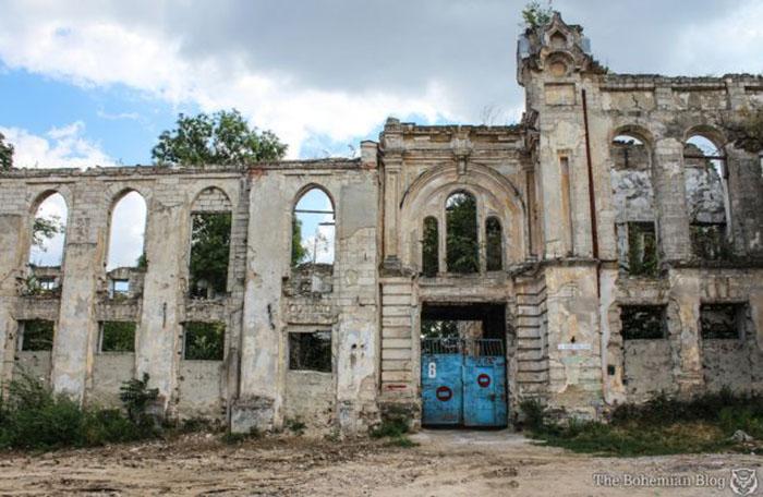 Руины Кишиневского еврейского гетто (Молдова