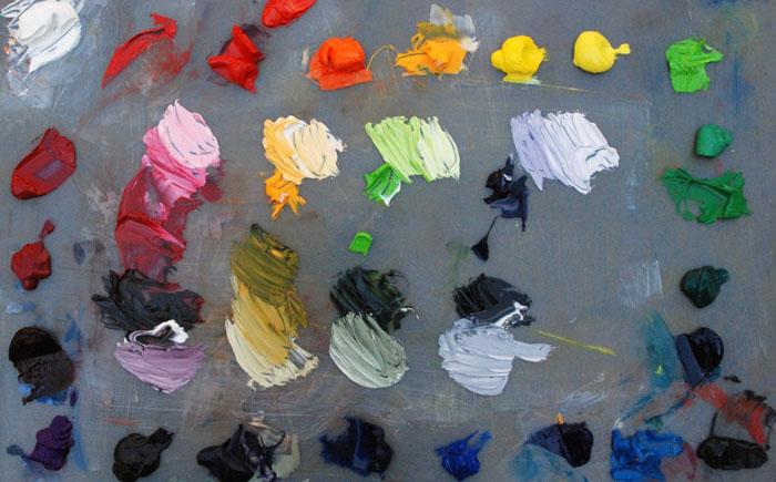 Краски из праха