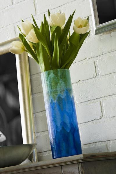 Крашеные вазы - самый простой способ получить желаемое