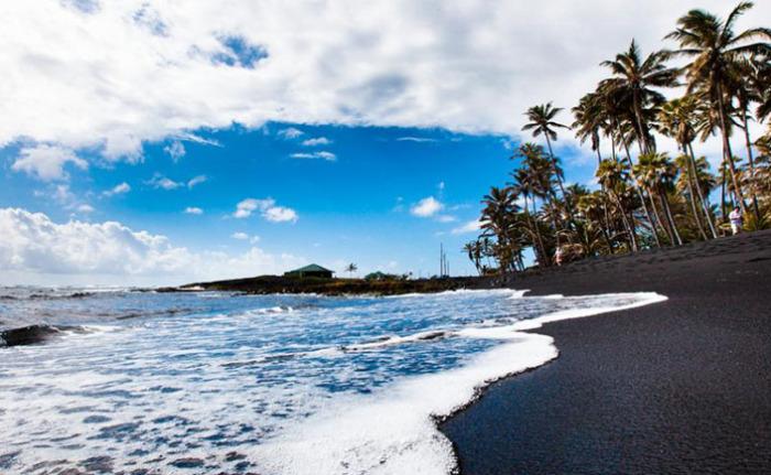 Черные пляжи Килауэа – Гавайи