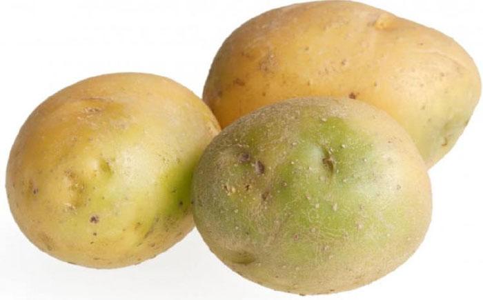 Зелёный картофель - табу.