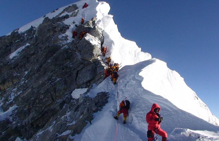 Покорение горы Эверест