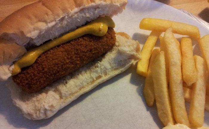 Классический голландский бутерброд