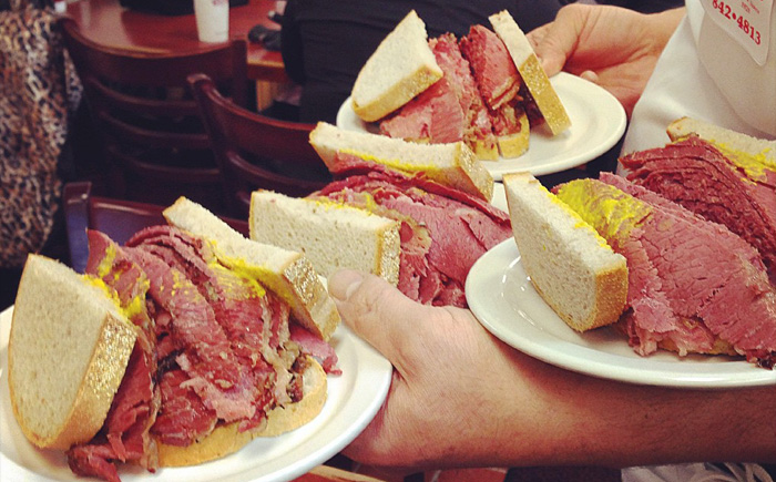 Канадский бутерброд
