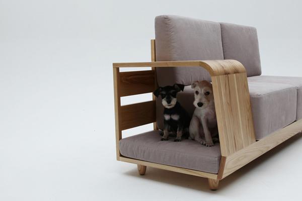 Диван-дом для собаки от Seungji Mun
