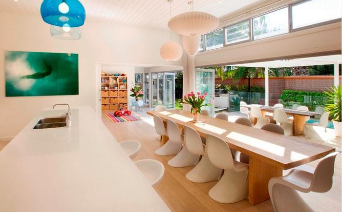 Интерьер столовой от Sanctum Design