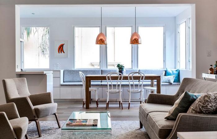 Интерьер столовой от Rudolfsson Alliker Associates Architects