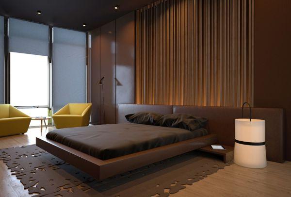 Шоколад в интерьере: монохромные комнаты
