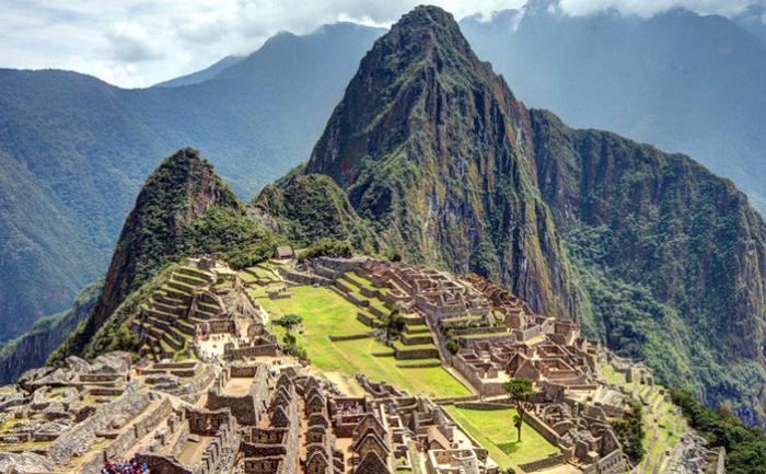 Древний город Мачу-Пикчу в Перу