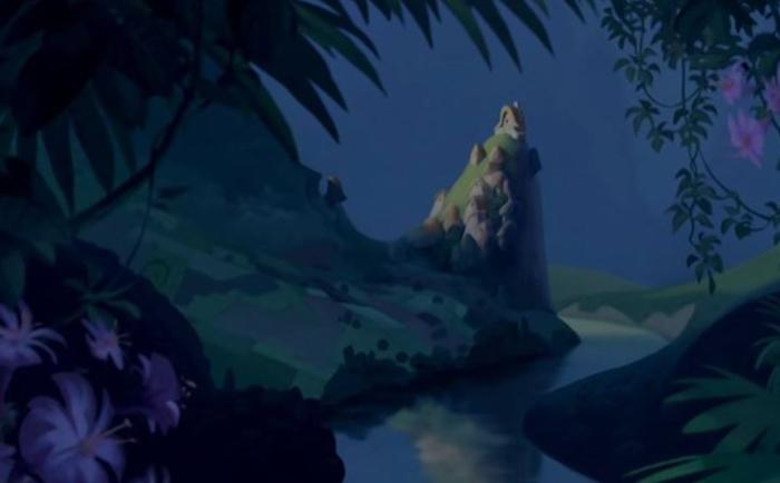 Деревня Пача из мультфильма «Похождения императора»
