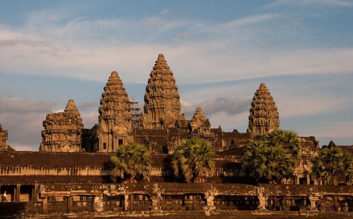 Храм Ангкор в Камбоджи