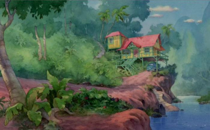 Местность из мультфильма «Лило и Стич»