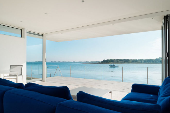 Интерьер гостиной от Meloy Architects