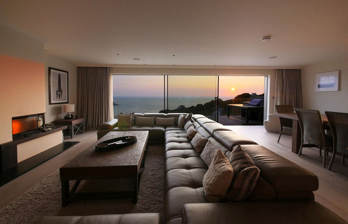 Интерьер гостиной от CSA Architects