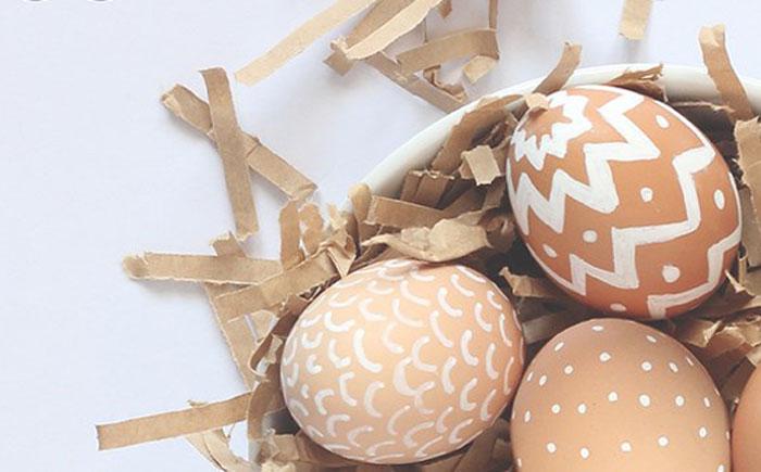Нетоксичные пасхальные яйца