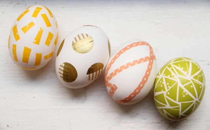 Пасхальные яйца в скотче
