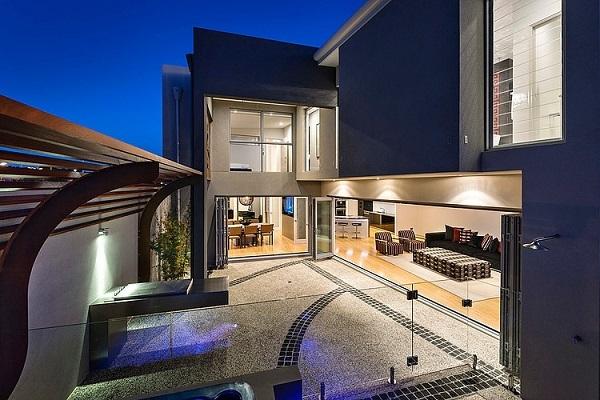 Потрясающий современный дом Mizu в австралийском городе  Перт